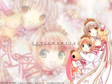 !! Sakura and Chii (CCS+Chobits)